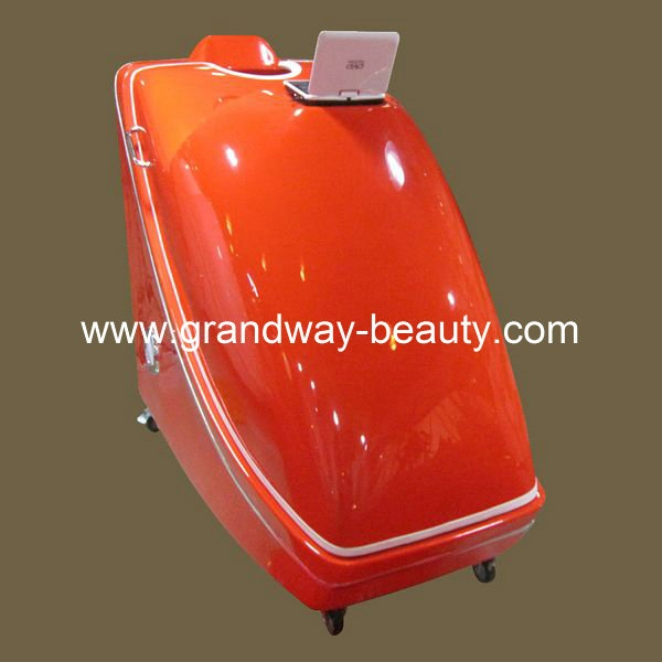 Luxury Herbal Fumigation hydro steam Spa Capsule with DVD screen