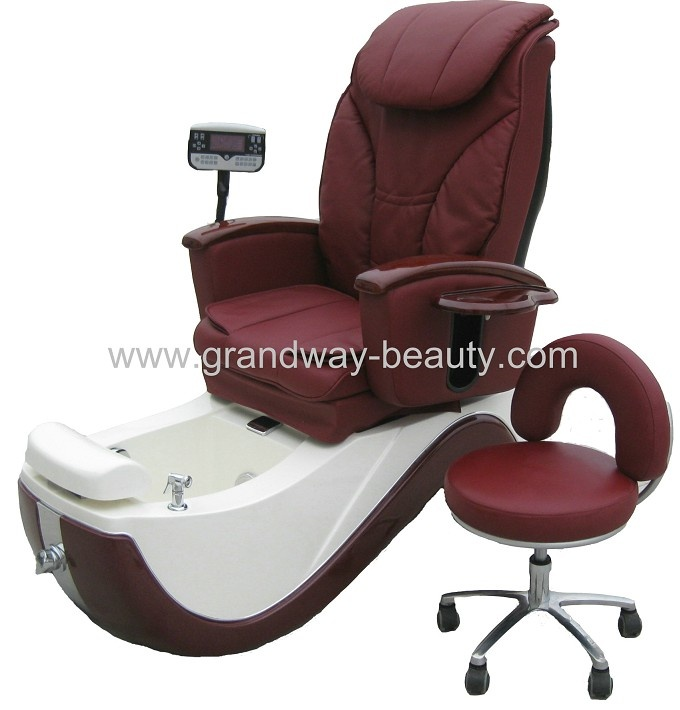 Newest style pedicure chair salon  massage chair with mp3