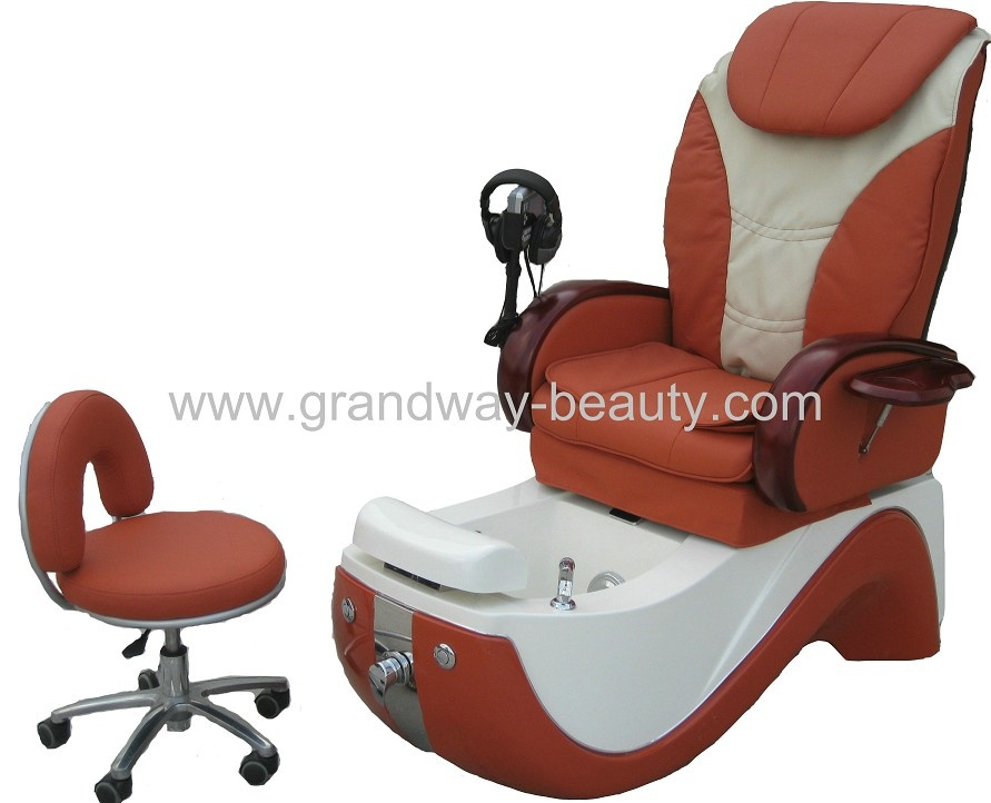 Luxury pedicure spa chair salon chair beauty salon equipment for Beauty spa equipment