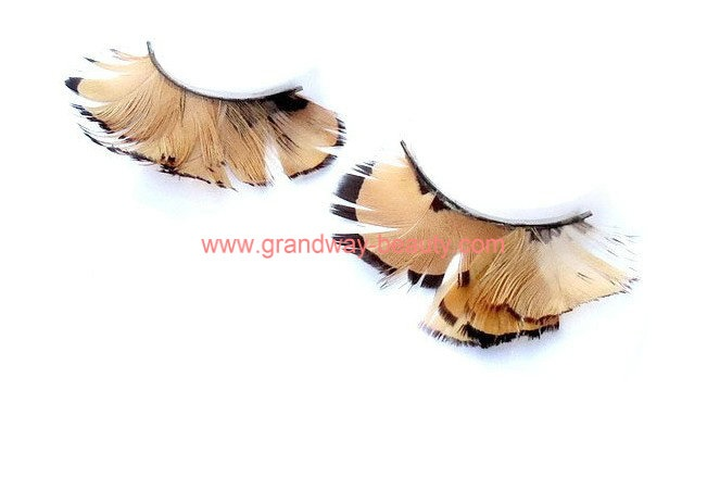 Hot sell party colorful silk synthetic eyelashes factory price