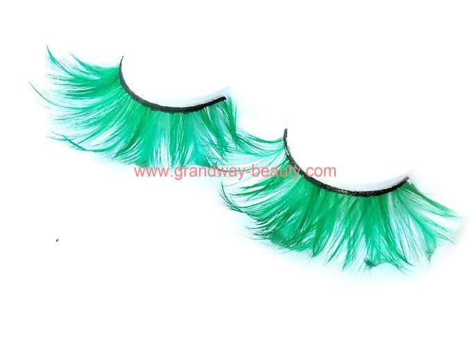 new party style feather eyelashes