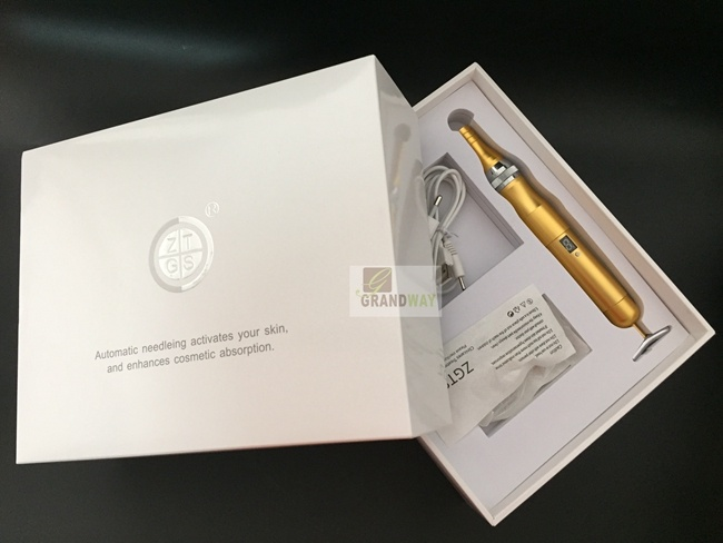 Auto Microneedle Dermapen with 24k Gold Beauty Stick Beauty Bar