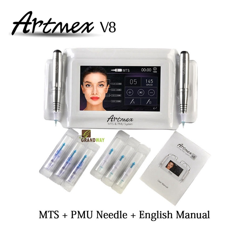 Artmex V8 Permanent Makeup Tattoo Machine MTS & PMU System