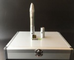 Two Batteries Derma Pen with Luxurious Aluminum Salon Box Packing